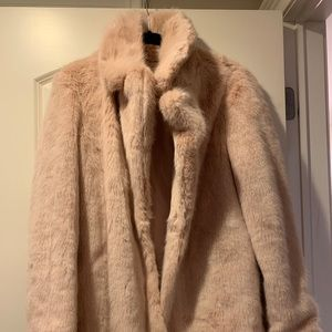 Warm and cute Faux Fur Jacket